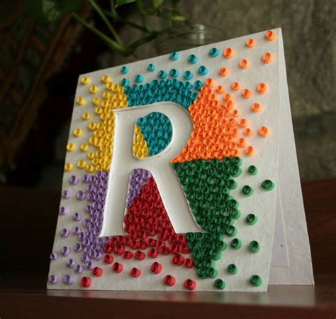 How To Make Paper Quilling Letters - 124 best images about paper quilling letters on