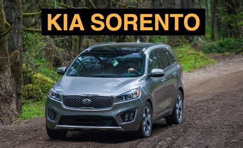 Kia Sorento Offroad 2016 Kia Sorento Road And Track Review