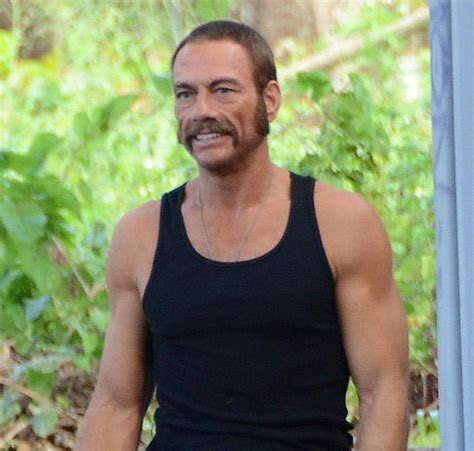 Alonna Set jean claude damme shows epic tash in set photo