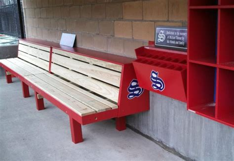 baseball bench rizzo bench