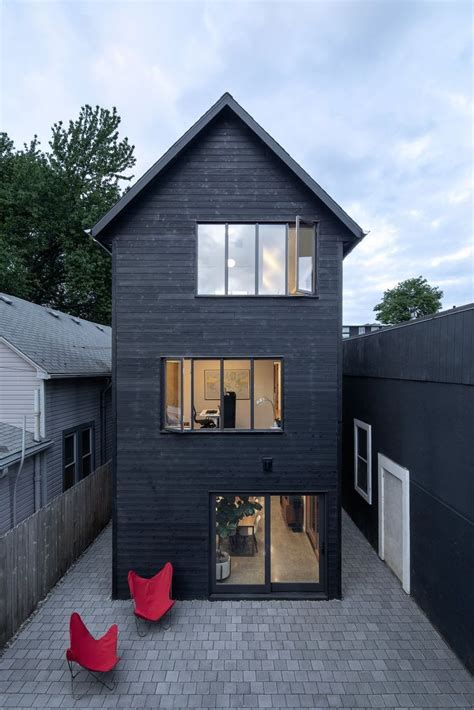 tall skinny house narrow house architecture house