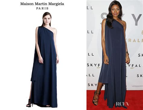 Catwalk To Carpet Kerry Washington In Maison Martin Margiela by Naomie Harris Maison Martin Margiela One Shoulder