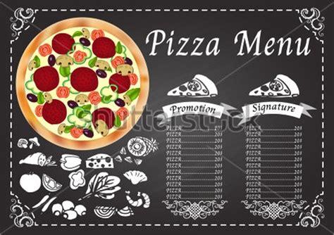 sample pizza menu template   documents  psd
