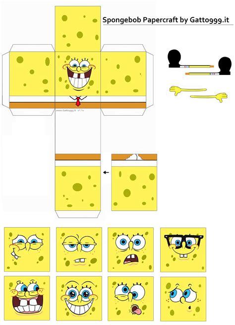 Spongebob Papercraft - image gallery spongebob papercraft