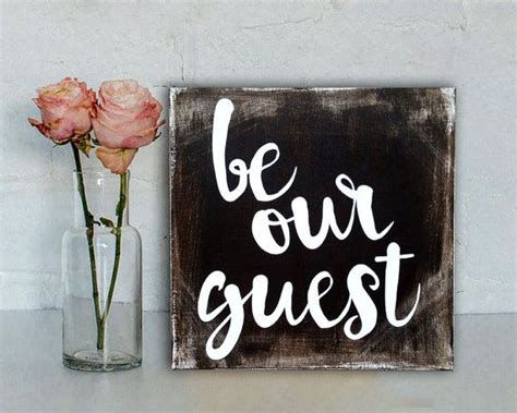 so be our guest rustic sign us in the guest bedroom by tangledponydesigns
