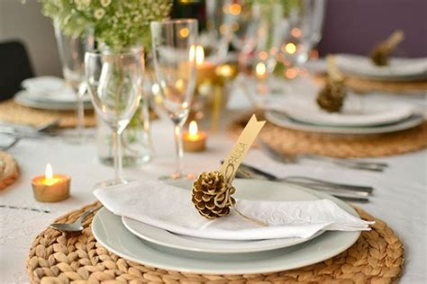 Dinner Table Decoration 28 Dinner Table Decorations And Easy Diy Ideas