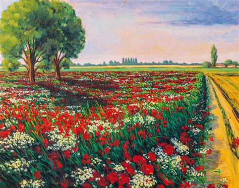fiori da dipingere su tela dipinti acrilico su tela ho69 187 regardsdefemmes