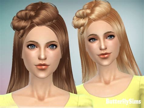 butterfly sims hair sims 4 b fly hair 078m free at butterfly sims 187 sims 4 updates