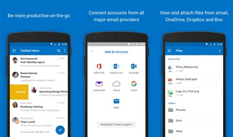 microsoft outlook for android outlook for android reved