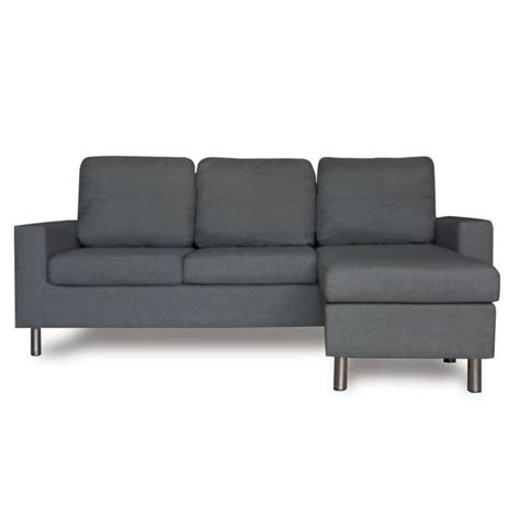3 seater sofa with ottoman 3 seater couch w chaise lounge or ottoman in grey buy