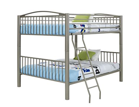 full over full metal bunk beds powell heavy metal full over full bunk bed by oj commerce