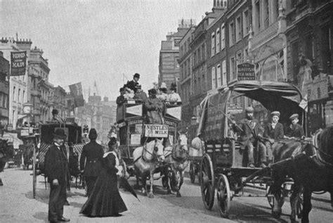 imagenes antiguas street view momentos del pasado londres a finales del siglo xix