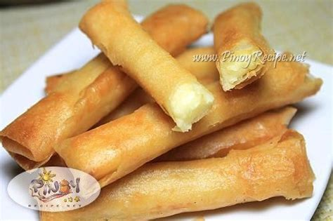 Cheese Stick 2 cheese sticks recipe http www pinoyrecipe net cheese sticks recipe food