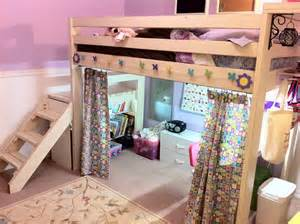 Loft Bed Studio White Studio Loft Bed Diy Projects