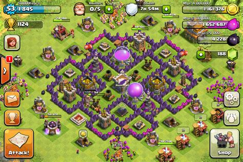 coc special layout screenshot base designs th7 page 32