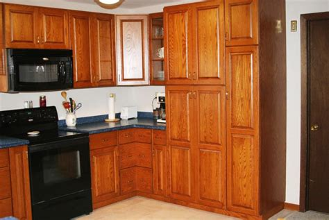 tall corner kitchen cabinet tall corner pantry cabinet with a desk space