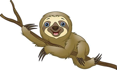 sloth clipart royalty free sloth clip vector images illustrations