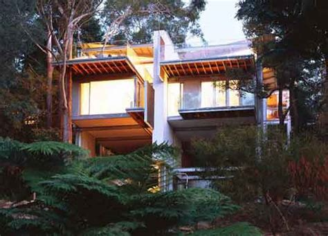 a house among the trees living lightly among the trees in australia inhabitat