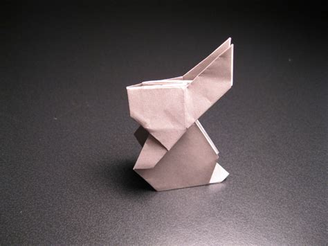 Origami Rabit - origami rabbit by isparkthefox on deviantart