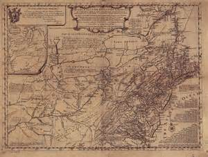 Pennsylvania Colony Map by 1755 To 1759 Pennsylvania Maps