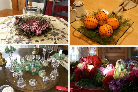 christmas center table decorations 50 great easy centerpiece ideas digsdigs
