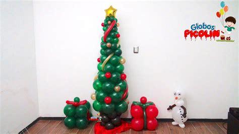 arbol de navidad con globos con menos de 50 pesos 83
