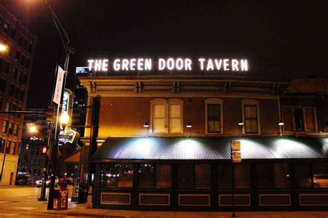 The Green Door Tavern by 6 Chicago Restaurants Where Mobster Eat