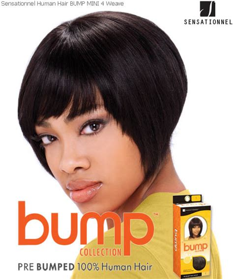 short bump weave hairstyles mini 4 sensationnel bump