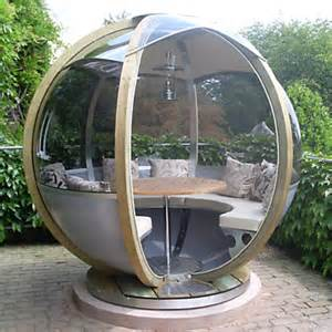 Rotating sphere seater modern patio furniture and outdoor furniture