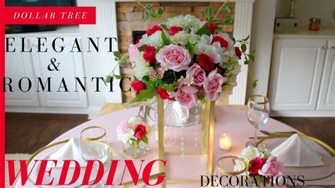 DIY Elegant & Romantic Wedding Decorations   Dollar Tree