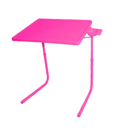 Pink Table L Skyshopproducts Pink Table Mate Ii 2 Folding Portable Adjustable Table With Cup Holder Buy