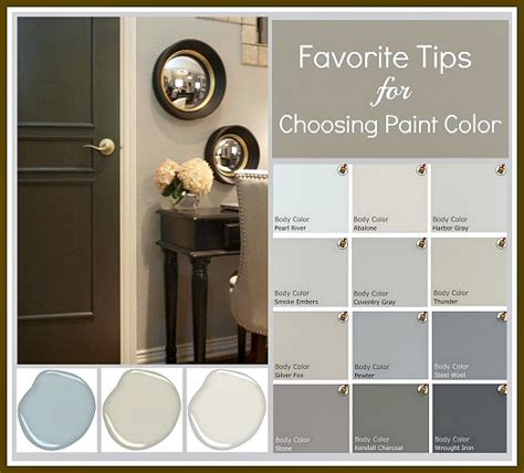 choosing a paint color tips and tricks for choosing the paint color