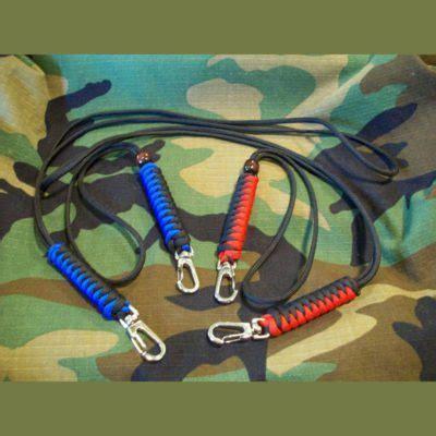 snake knot wrist  neck lanyards paracord paul bracelets dog tag gear
