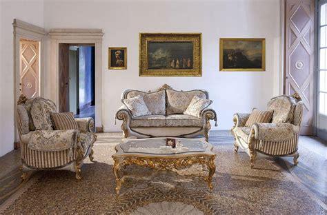 Halbrundes Sofa Im Klassischen Stil by Sofa Und Sessel F 252 R Zimmer Im Klassischen Stil Idfdesign