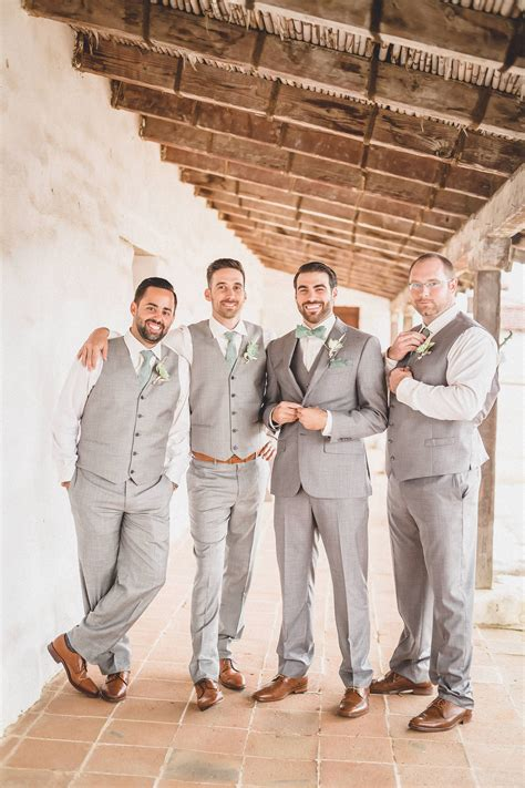 light grey suit brown shoes the smarter way to wed green tie brown shoe and sage