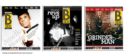 magazine sections chicago reader redesign a music section to flip for