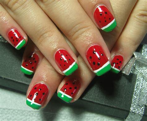 tutorial watermelon nail design u 241 as de sandia verano tutorial watermelon nail art 2016 10 18