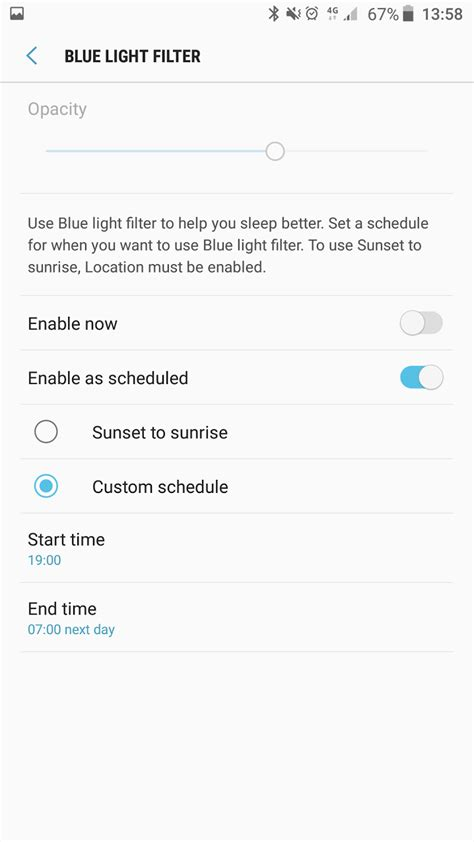 blue light filter s7 what s new with nougat part 4 blue light filter banishes