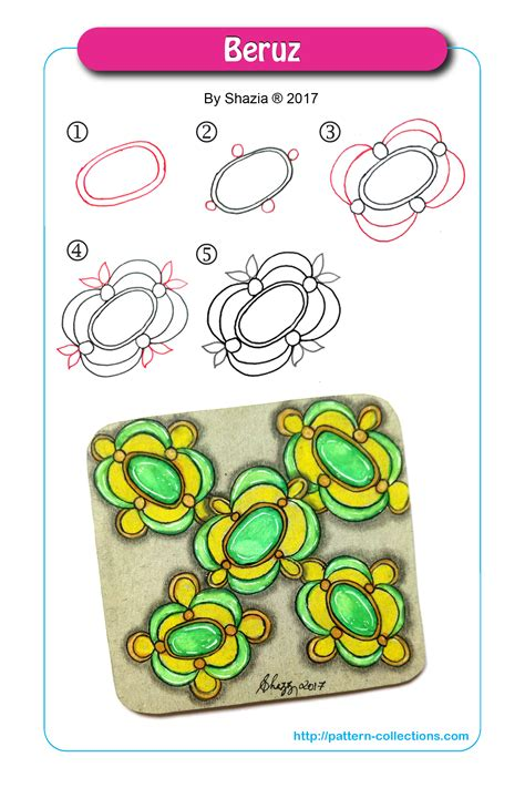 doodle name ria beruz pattern collections