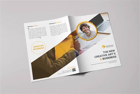 creative brochure design psd i free bi fold brochure