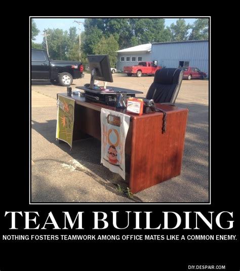 team building meme guy