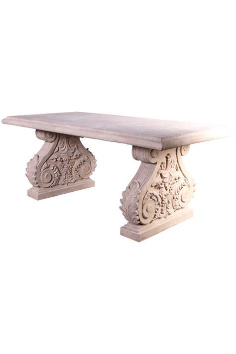 mesa piedra jardin mesa de jard 205 n acabado piedra oriente y occidente