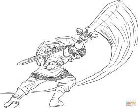 legend of coloring pages the legend of skyward sword coloring page free