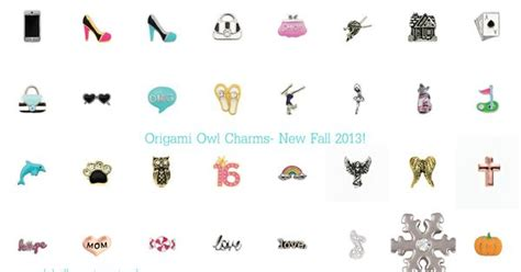Brand Origami Owl - origami owl brand new charms for fall 2013 available