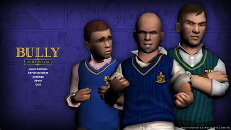 game bully ps4 mod chip bully multiplayer 0 1 rc1 released