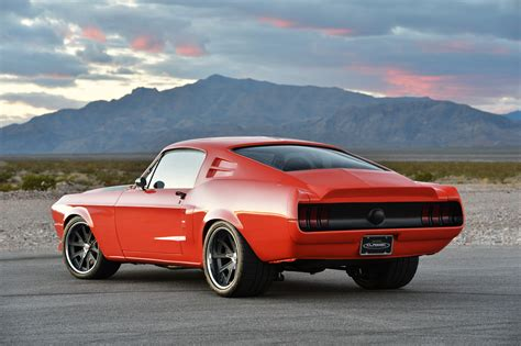 when was the mustang fastback made mustang
