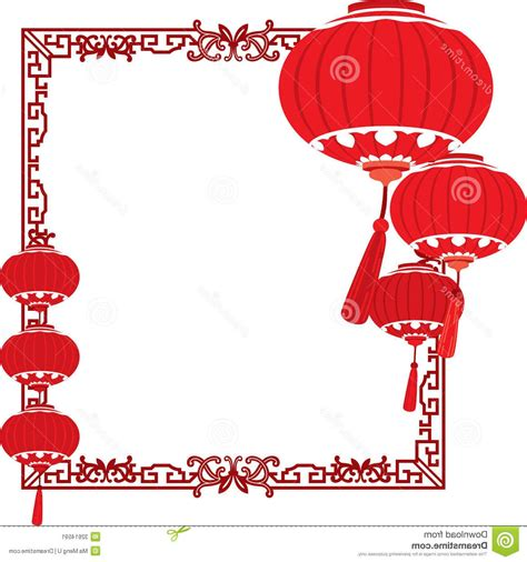 new year lantern drawing unique frame clip drawing 187 free vector