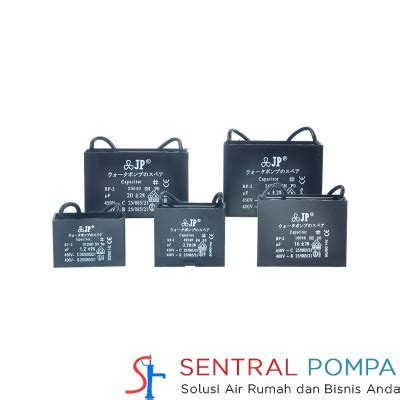Capasitor Pompa Air 14 Uf Kabel Jp capasitor 14 mikro farad 14 uf kotak sentral pompa