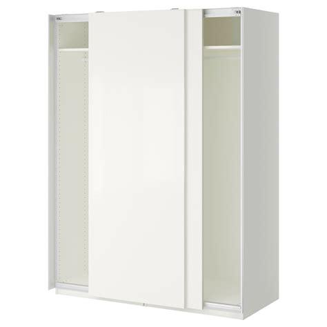 schlafzimmerschrank 3m pax wardrobe white hasvik white 150x66x201 cm ikea