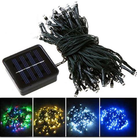led solar light string mono crystalline solar led string lights